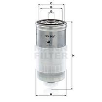 Palivový filtr - Mann WK845/1